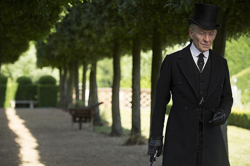Ian McKellen in Mr Holmes (above).