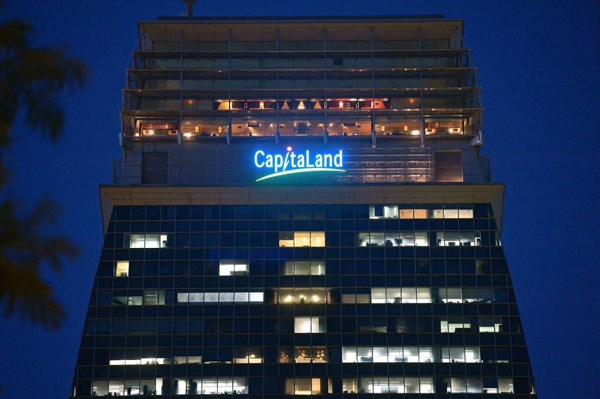 Mainboard-listed property heavyweight CapitaLand.