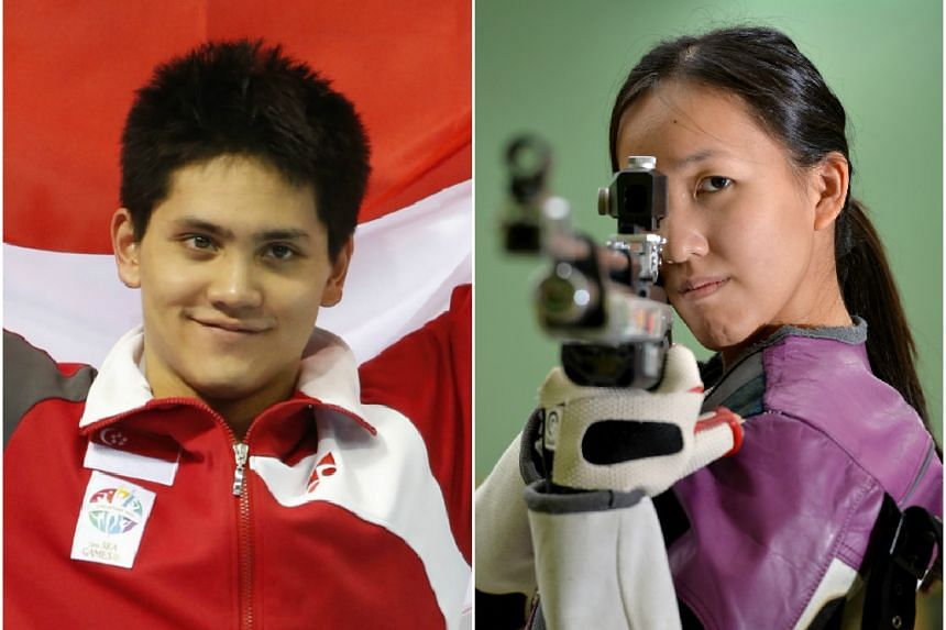 Swimmer Joseph Schooling and shooter Jasmine Ser won the Sportsman and Sportswoman of the Year awards respectively at the Singapore Sports Awards on Wednesday, Aug 5, 2015.