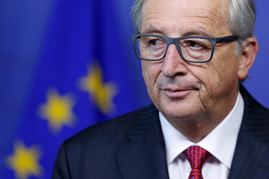 European Commission President Jean-Claude at a news conference on July 22, 2015.