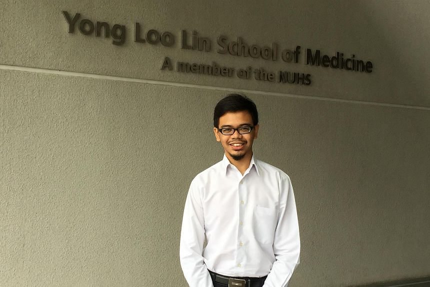 Former Nanyang Junior College student Muhammad Mirza Syafiq Rahmad, 22, says few from his JC make it to medicine. He was admitted on his third try. The revamped admission system came into effect in 2013.