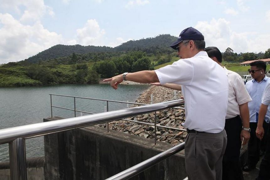The reservoir has now reached a record low of 54.5 per cent capacity.