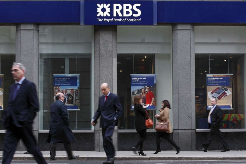 Britain's government has begun selling its majority stake in bailed-out Royal Bank of Scotland to reduce state debt.