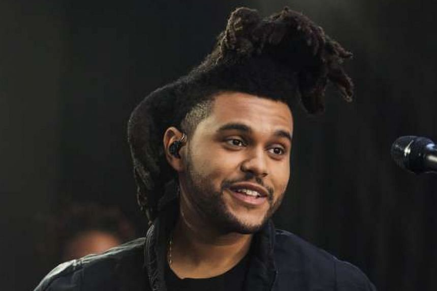 SINGER THE WEEKND