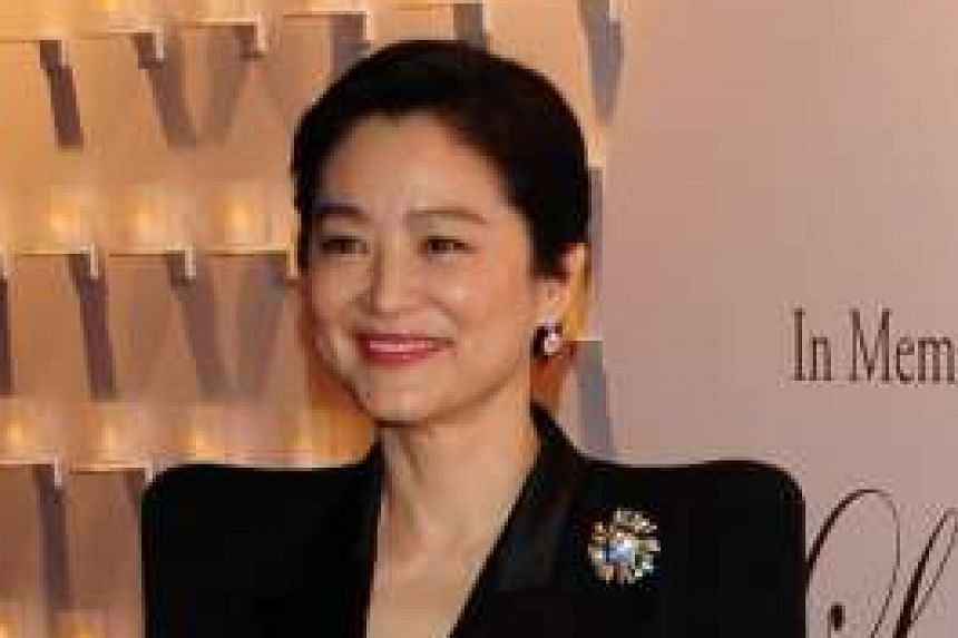 RETIRED ACTRESS LIN CHING-HSIA