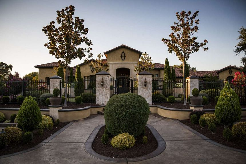 Mr Ling Wancheng's $2.5 million home, near the Sierra Nevada mountains in California. Should Mr Ling seek political asylum, he could become one of the most damaging defectors in the history of China.