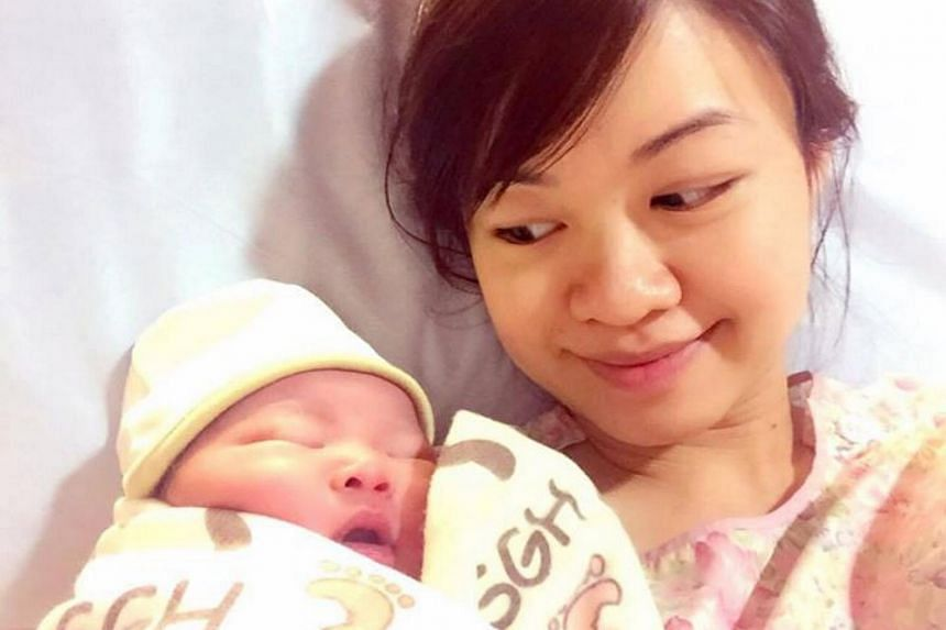 """Ms Tin Pei Ling has given birth to a """"healthy baby boy"""", the MP for Marine Parade GRC said in a Facebook post on Wednesday (Aug 5) morning."""