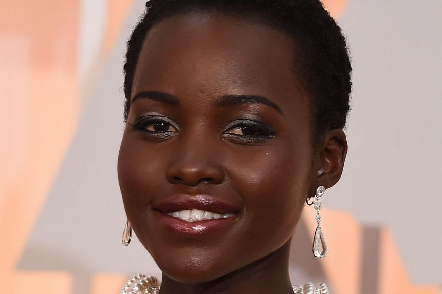 Achieve picture-perfect make-up like Hollywood A-listers Anne Hathaway (far left) and Lupita Nyong'o (left).