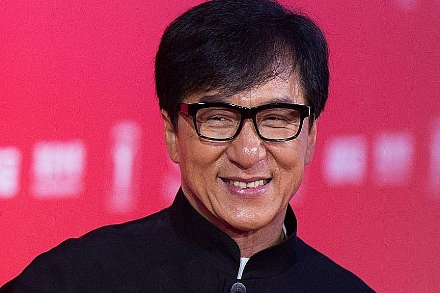 Hong Kong actor Jackie Chan, in second position, is the highest- earning Asian star.