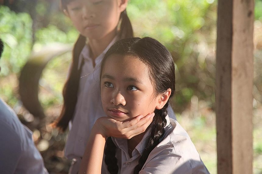 Yan Li Xuan, who stars in Jack Neo's That Girl in 7 Letters. The movie gets full marks for its near-perfect casting, especially in its child and elderly actors.