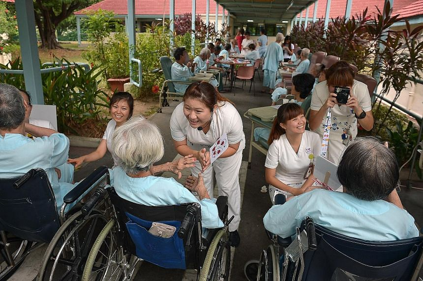 What started out as a group of five nurses interested in giving back to the community has grown to a group of 30 in the past six years. Many of these TTSH nurses volunteer on their days off so they can get to know patients better as they are too busy