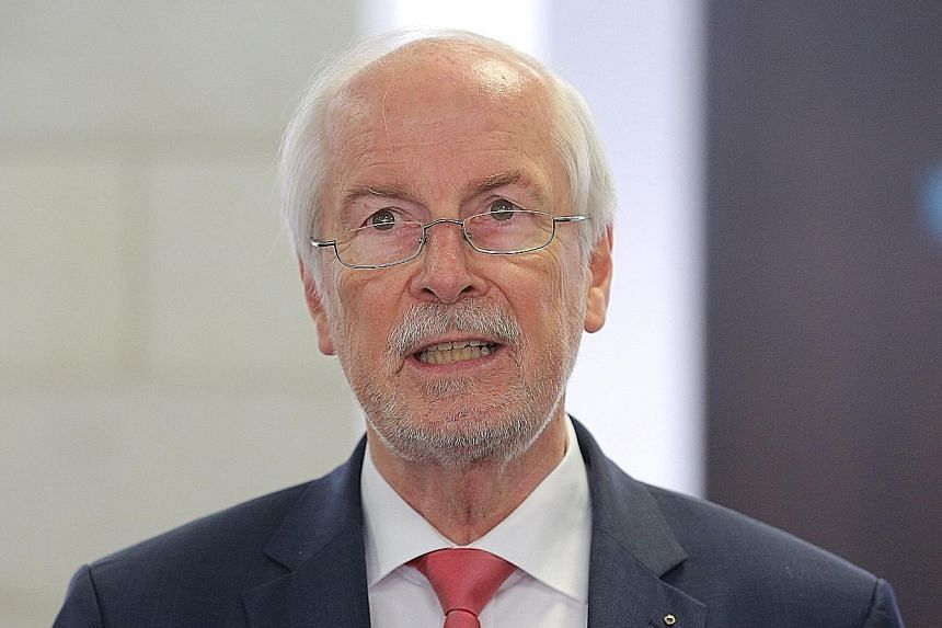 Mr Harald Range had accused the Justice Minister of interfering in an investigation.