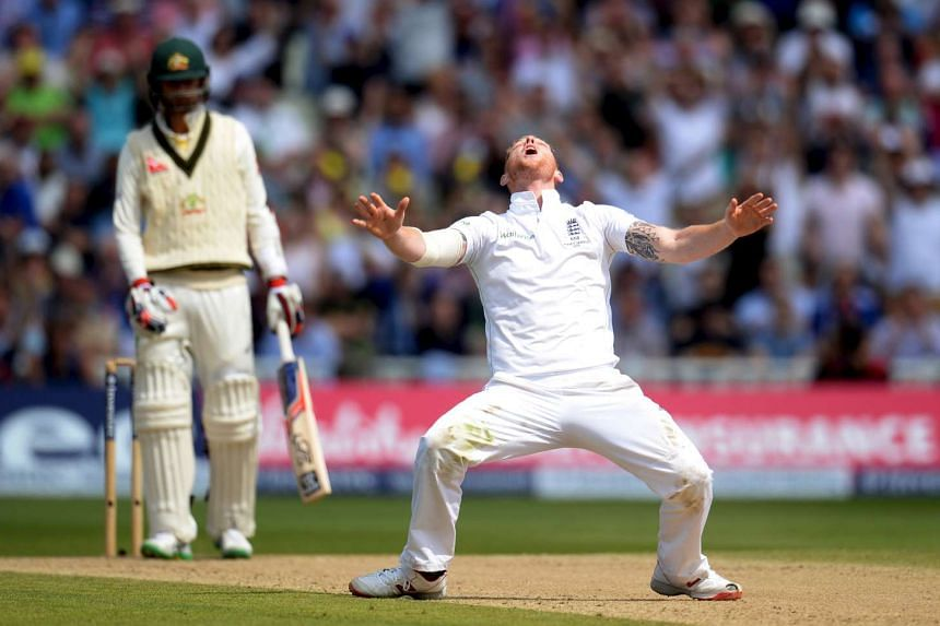 England's Ben Stokes has an appeal against Australia's Nathan Lyon turned down in the Investec Ashes Test Series Third Test.