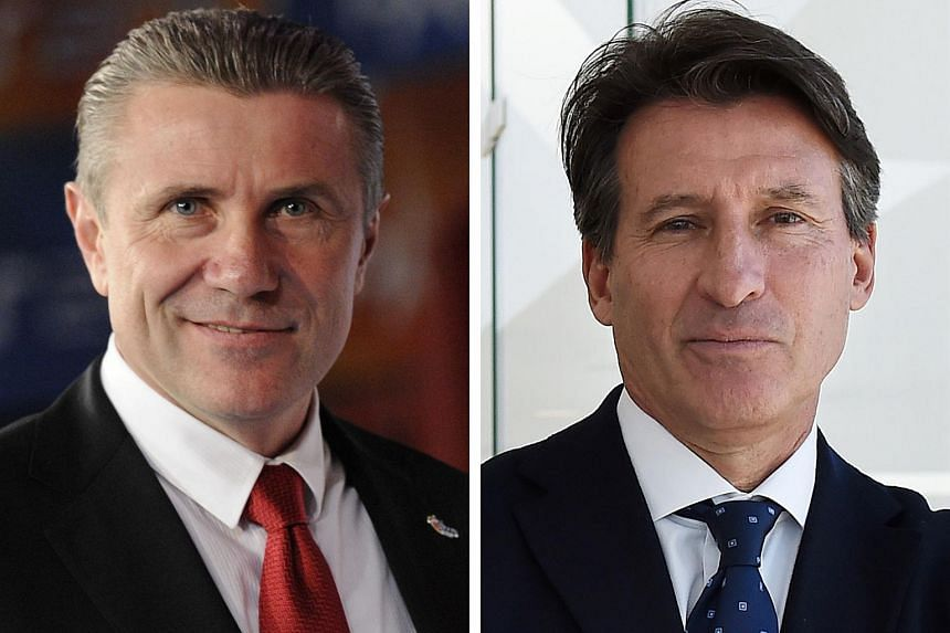 The two men bidding to lead the IAAF, Sebastian Coe (right) and Sergey Bubka (left), offered contrasting reactions to the latest doping storm.