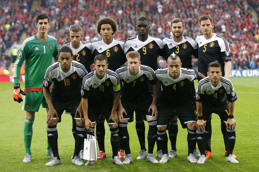 Belgium's national football team moved ahead of Germany into second place in the updated Fifa rankings released on Thursday, Aug 6, 2015.