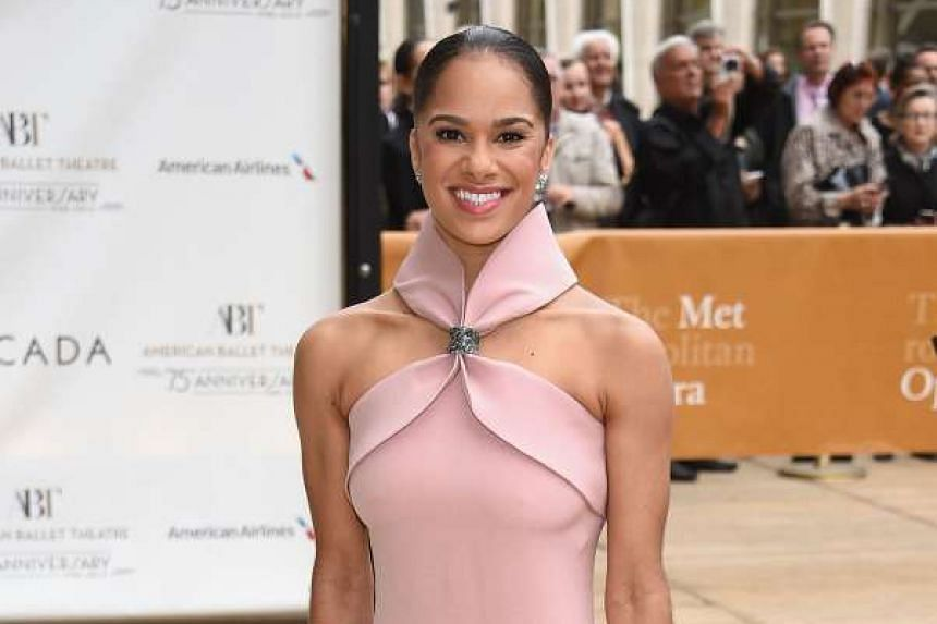 Misty Copeland attends the American Ballet Theatre's 75th Anniversary Diamond Jubilee Spring Gala at The Metropolitan Opera House on May 18, 2015 in New York City.