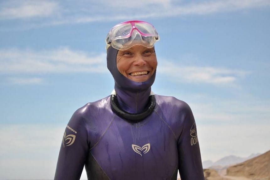 World free diving champion Natalia Molchanova is missing.
