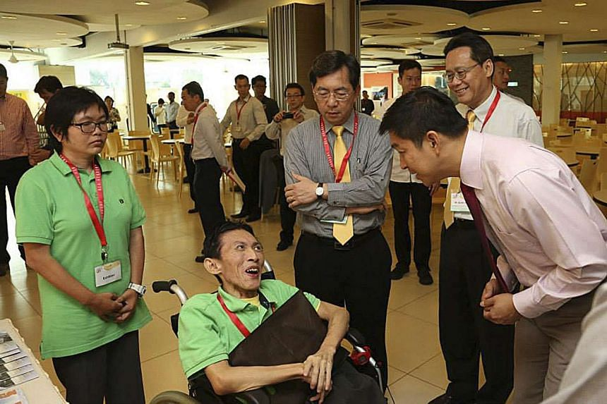Minister for Social and Family Development Tan Chuan-Jin was the guest-of-honour for the event.