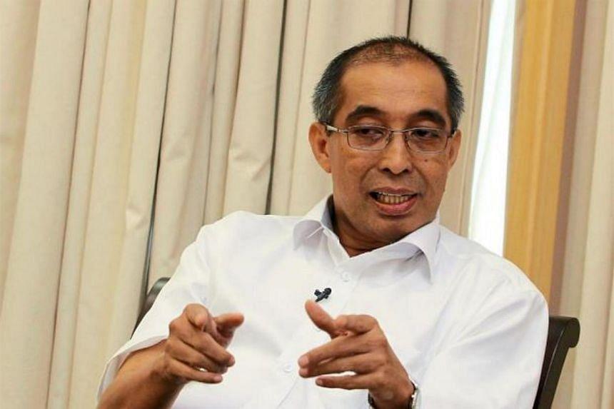 Dr Salleh at his office in Putrajaya.