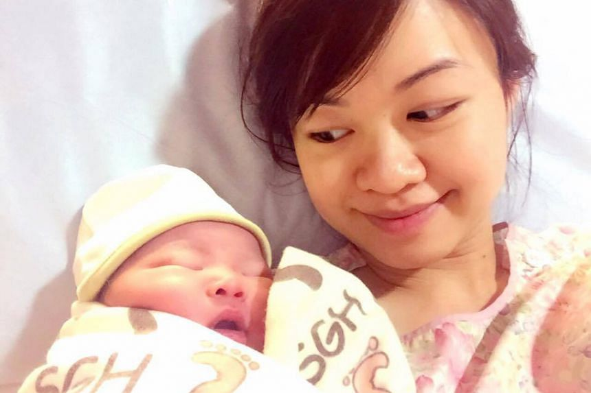 MP Tin Pei Ling gave birth to her first child yesterday. ESM Goh Chok Tong said she would be fielded in single-seat MacPherson. A fierce electoral fight is likely as two opposition parties want to contest the area.