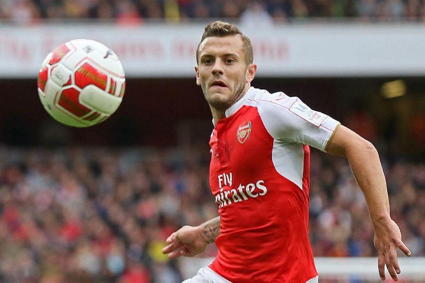 Arsenal star Jack Wilshere.