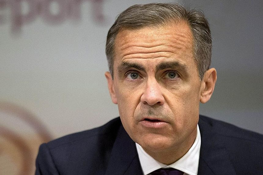 A rate hike is around the corner, says bank governor Mark Carney, but the timing will depend on how the economy fares.