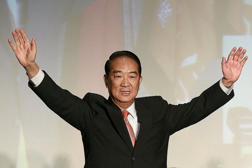 Taiwan and China need to work together, not antagonise each other, says Mr James Soong.