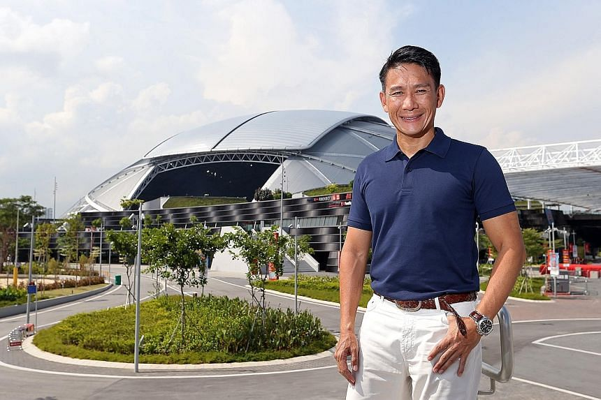 Jeffrey Foo's firm Infinitus organises several high-profile running events, including the ST Run. He wants to keep the light-hearted element to draw the younger and less active runners.