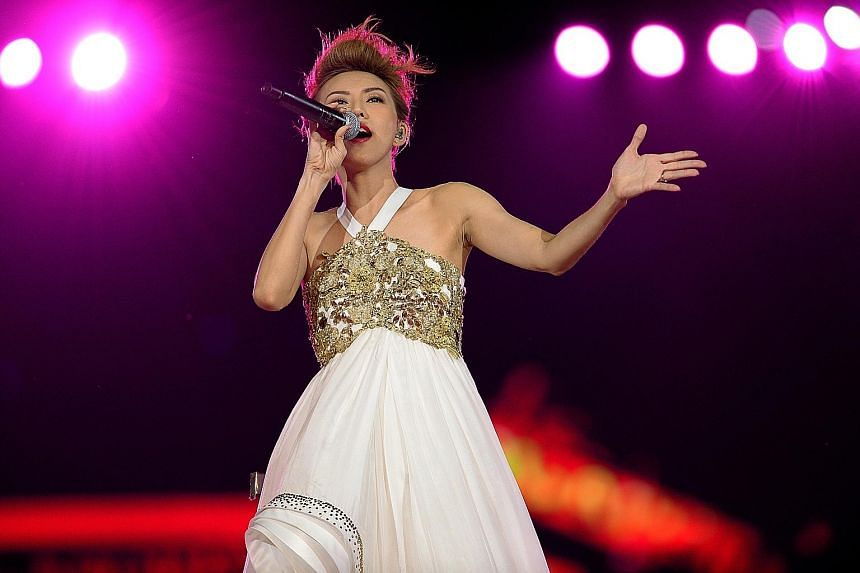 Stefanie Sun will be performing at Sing50.