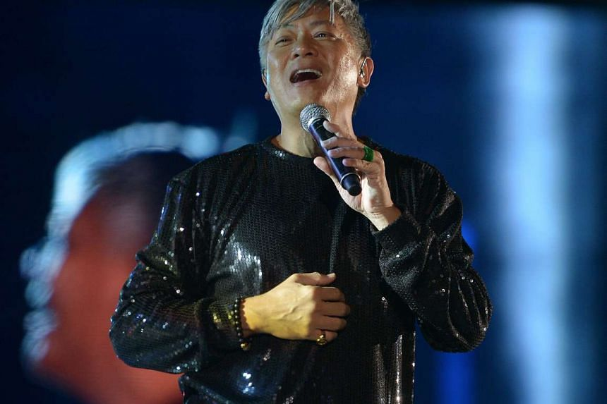 Household name Dick Lee will also perform at the Sing50 concert on Friday evening. The concert will celebrate Singapore's gold jubilee by bringing together musicians from the past 50 years.