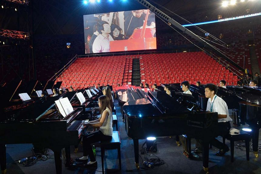 50 pianists were chosen out of more than 300 applicants to participate in Sing50. They will be led by Chinese virtuoso Lang Lang.