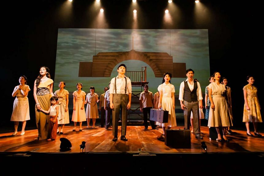 Nanyang: The Musical is based on the lives of the pioneer Singapore painters Liu Kang and Georgette Chen.