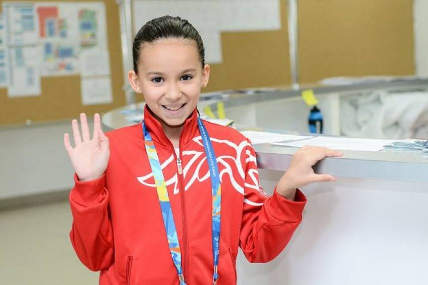 Tareq is the fastest female swimmer in her Middle Eastern country and her father funds her travels to compete.