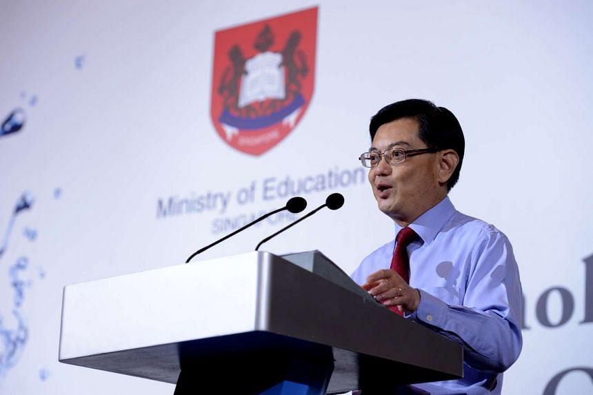 Education Minister Heng Swee Keat.