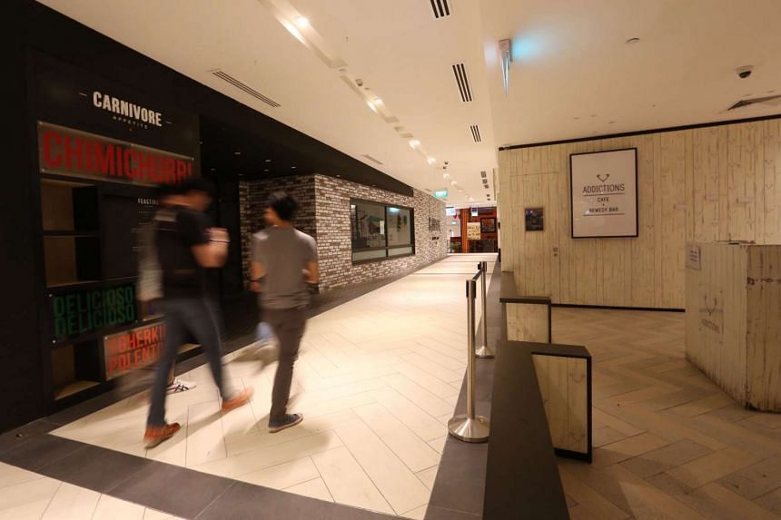 Since January, at least five eateries at the mall have closed.