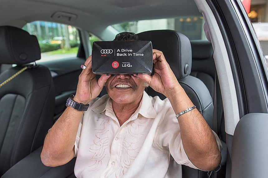 Go on a virtual tour of Singapore's Civic District through the years, courtesy of Audi.