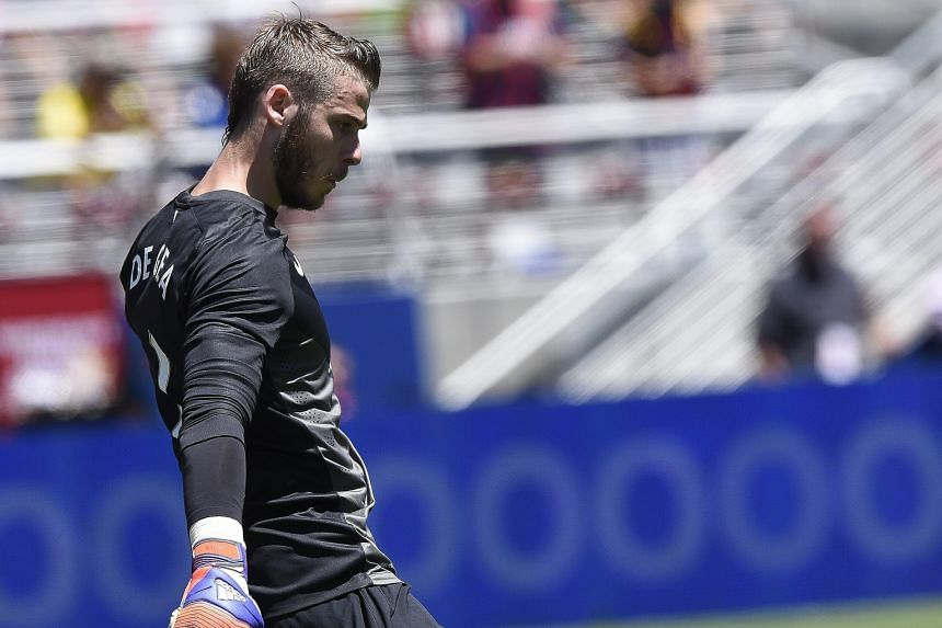 The uncertainty over his future has distracted Manchester United goalkeeper David de Gea in the pre-season. He has drawn interest from Real Madrid but the two clubs have not worked out a deal.