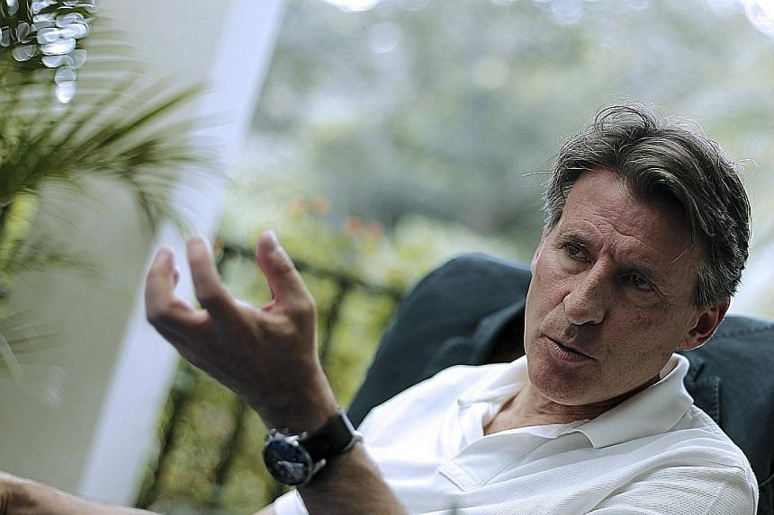 """British peer and former Olympic champion Sebastian Coe is furious about recent media claims about thousands of suspicious blood tests involving athletes between 2001 and 2012. """"It is a declaration of war,"""" Coe said."""