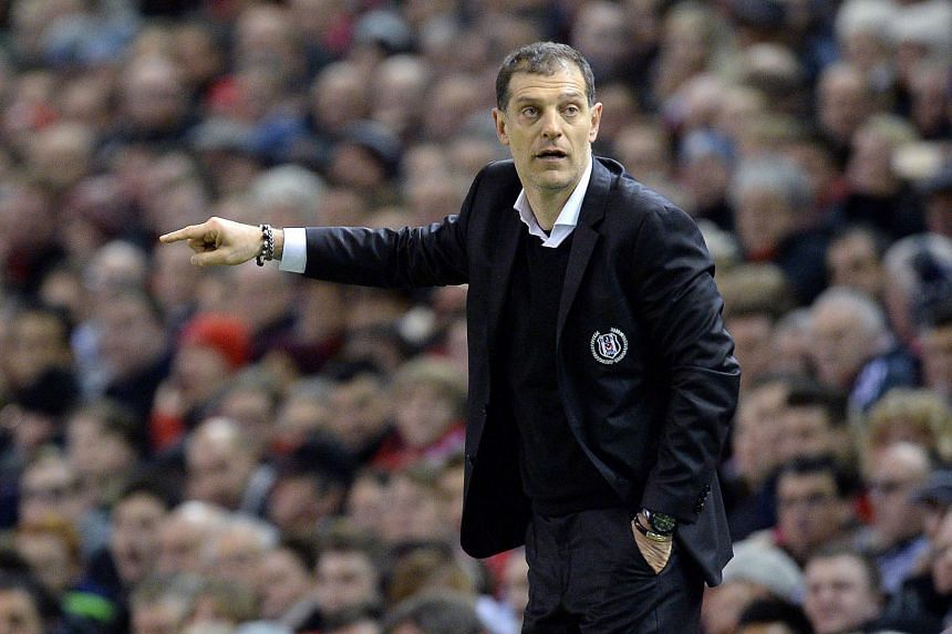 Slaven Bilic during the Uefa Europa League match between Liverpool and Besiktas at Anfield on Feb 19, 2015.