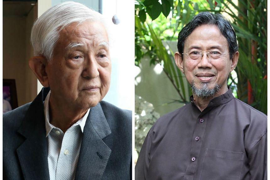 Mr Ch'ng (left) and Mr Sidek have a combined 54 years in Parliament under their belts.