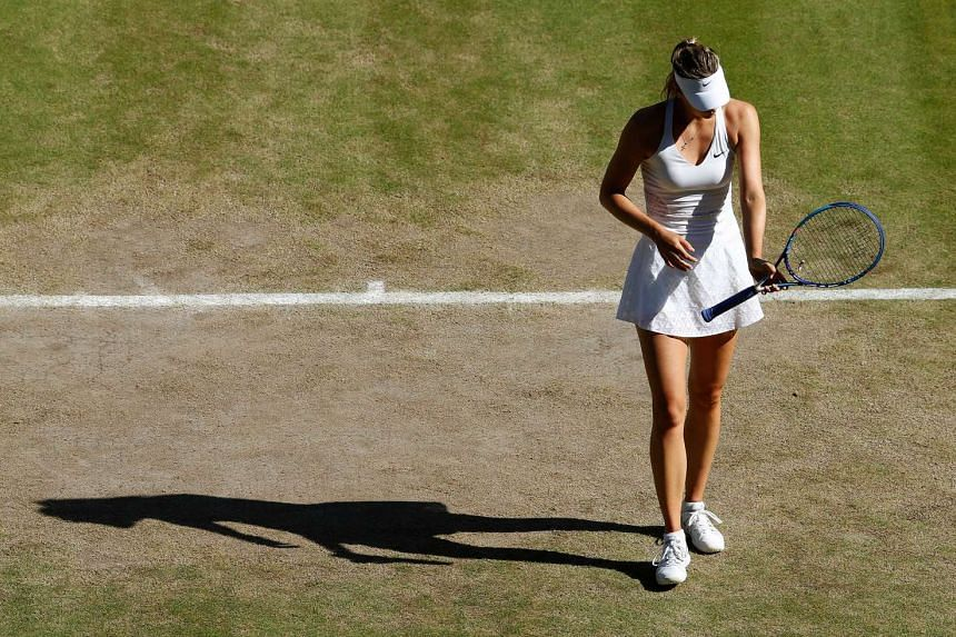The 28-year-old Russian withdrew due to a right leg strain.
