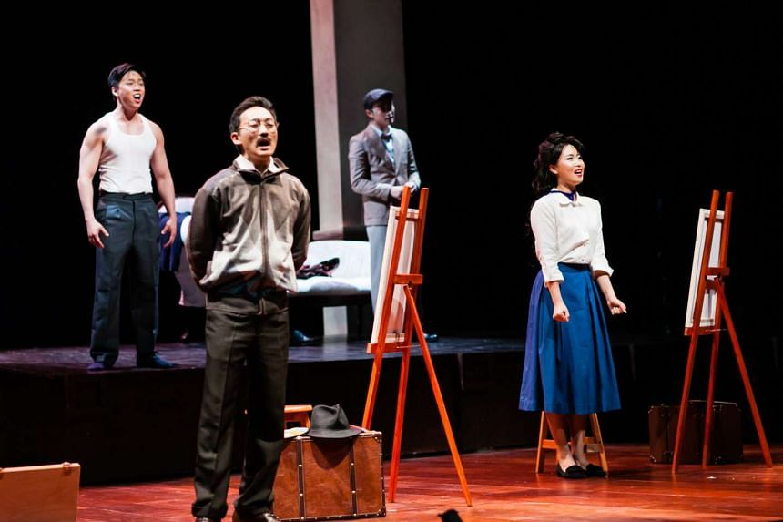 Nanyang: The Musical is inspired by the lives of pioneer Singapore painters Liu Kang and Georgette Chen.