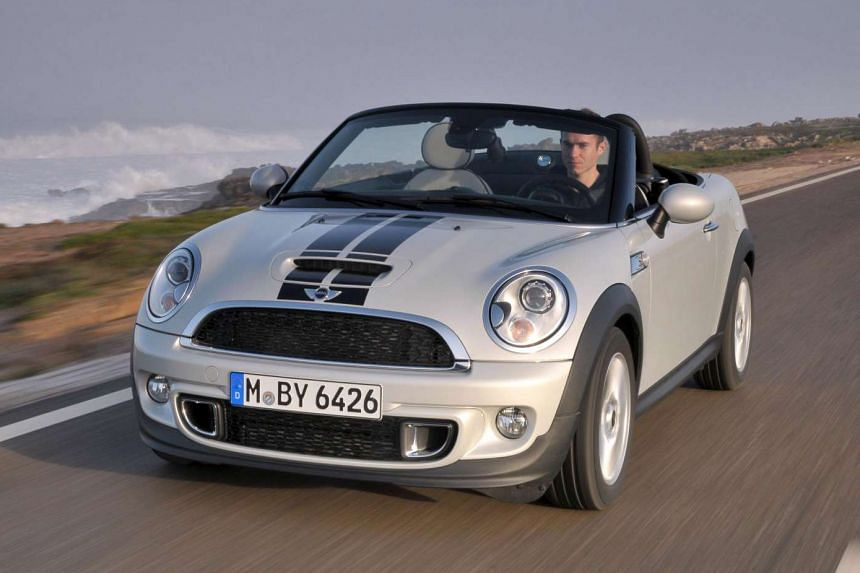 The Mini Roadster is a shortened version of its original convertible without the rear seats.