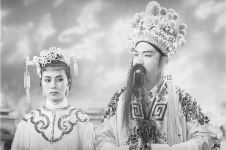 Opera film Taming Of The Princess, which starred Liu Huchen (right) and Xiao Lizhen.