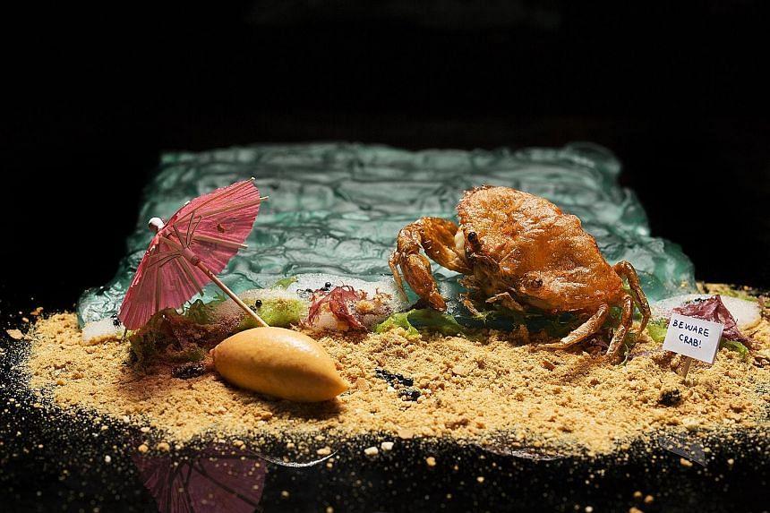 Labyrinth Chilli Crab.