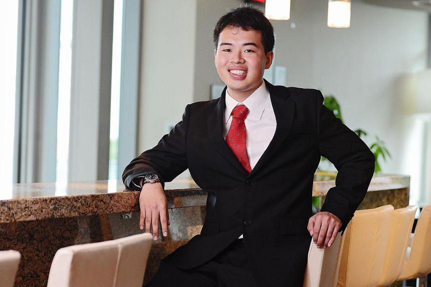 Mr Loh Yuan Bin's advice to young investors seeking a university course is to go into accountancy as it is the language of any business. When picking stocks, he believes in understanding the business as much as possible.