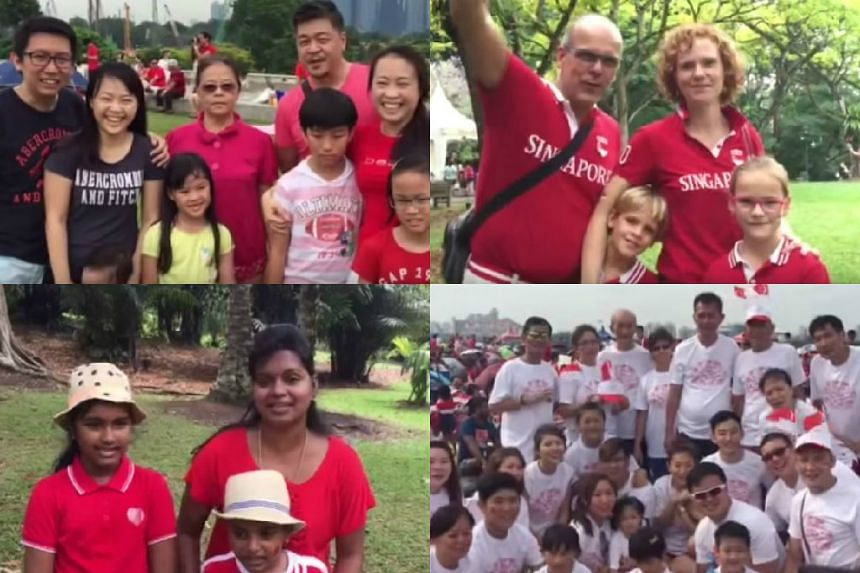 People around Singapore wished the nation a happy birthday, and shared their dreams for the future.