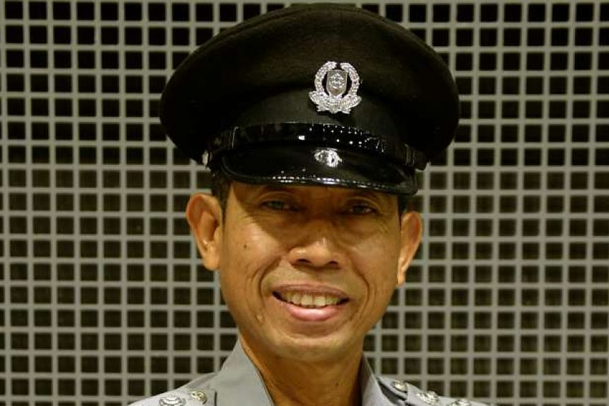 Retired police officer Zailanee Othman, 56, will don the old police uniform his dad and granddad once wore.