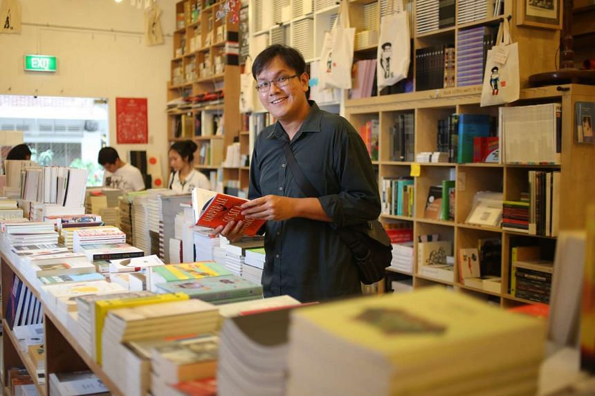 """Graduate student Hidhir Razak spends his time reading and sometimes meets his friends at cafes. He says his generation """"dared to say 'I prefer not to' when asked to give up some of our passions and dreams""""."""