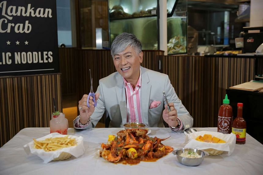 Dick Lee co-owns Dancing Crab, a chain of seafood boil restaurants, and pancake joint Slappy Cakes, with the TungLok restaurant group.